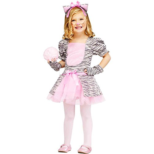 Grey Tiger Kitten Toddler Costume