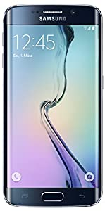Samsung Galaxy S6 Edge Smartphone (12,9 cm (5,1 Zoll) Touch-Display, 64GB Speicher, Android 5.0) schwarz [T-Mobile Branding]