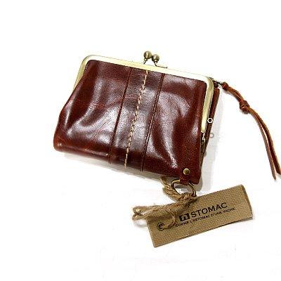 ESTOMAC(エストマ)35803 がま口二つ折り財布 チョコ