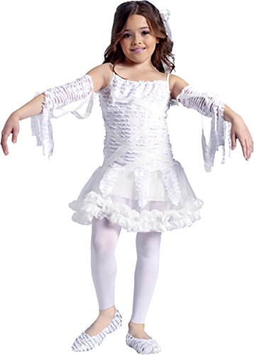 Morris Costumes Girl's TUTU MUMMY CHILD, 12-14