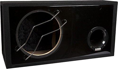 AUDIO-SYSTEM-BR-12-60L-Leergehuse-fr-30-cm-Bass-Bassreflex-Gehuse-mit-60-Liter-Neu-mit-Plexiglas