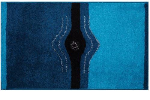 Grund 2440164126 Badteppich Crystal Light, 60 x 100 cm, türkis