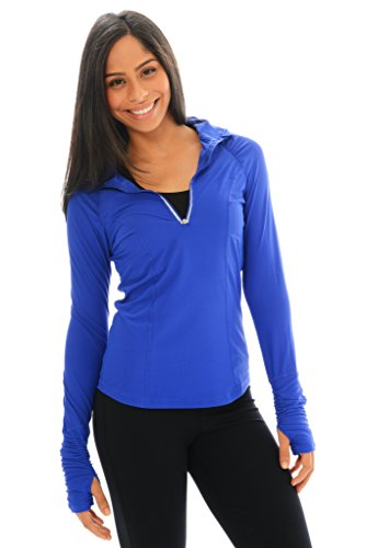 Light As Air Half-Zip Reflex Blue Xl