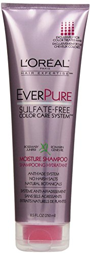 L'Oreal Paris discount duty free L'Oreal Paris EverPure Sulfate-Free Color Care System Moisture Shampoo, 8.5 fl. Oz.