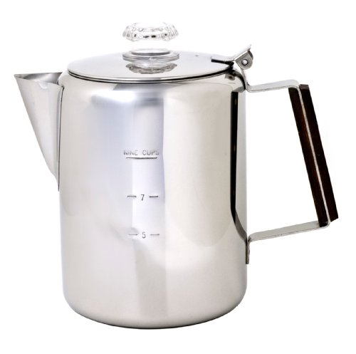 Chinook Timberline 9 Cup Stainless Steel Coffee Percolator