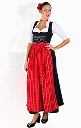 stockerpoint dirndl klassisch 1tlg amber schwarz. Black Bedroom Furniture Sets. Home Design Ideas