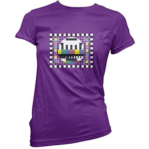 TV Test Card - Womens T-Shirt. Many colours available for sizes 8 to 16