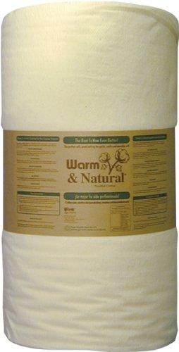 Warm & Natural Cotton Batting - 34 Inch x 50yds