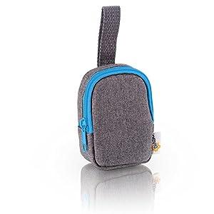 DIAGO 30068.75274 Deluxe - Funda para chupete, color gris y azul - BebeHogar.com