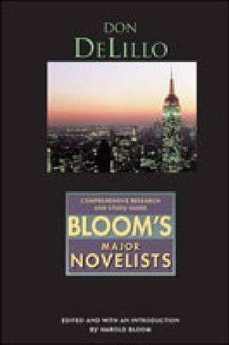 Don Delillo (Bloom's Major Novelists)