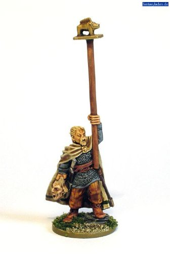 Hail Caesar, Celt Army Standard Bearer , 28mm Warlord games miniatures - 1