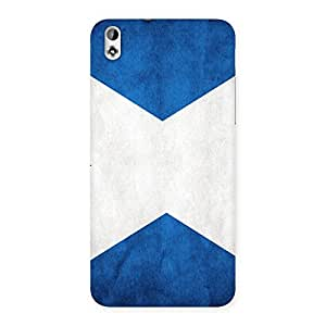Gorgeous X Fin Blue Back Case Cover for HTC Desire 816g