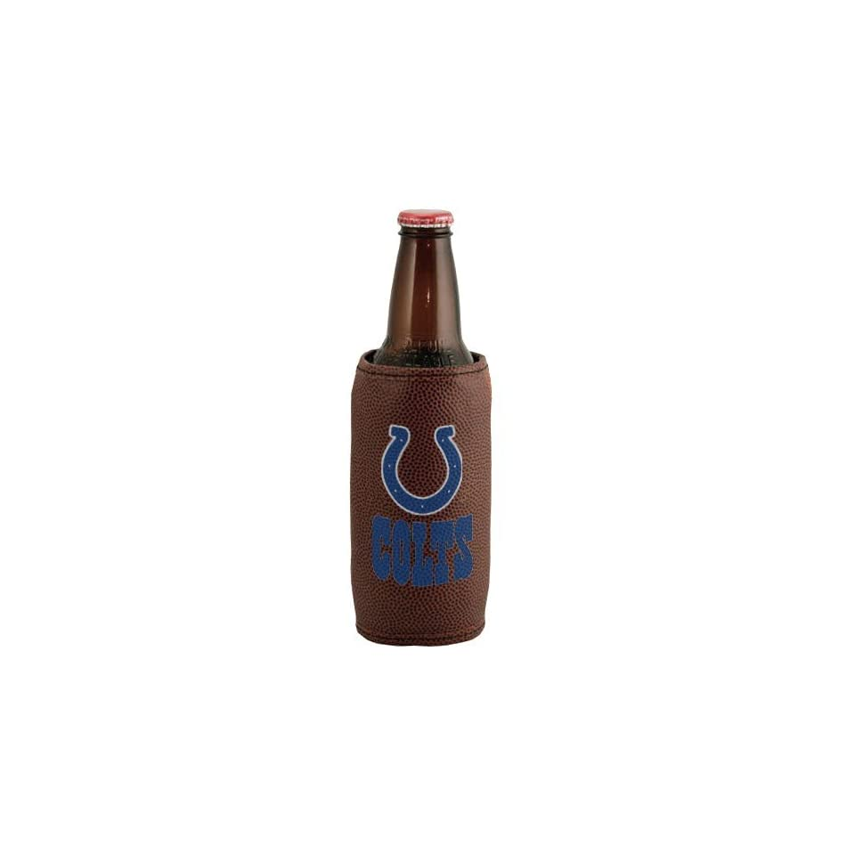 Indianapolis Colts Brown Football Bottle Coolie Sports