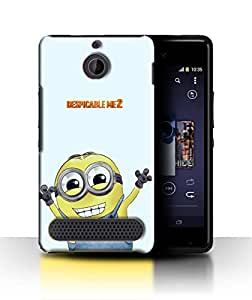 PrintFunny Designer Printed Case For Sony Xperia E