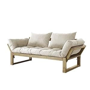 fresh futon edge convertible futon sofa bed natural
