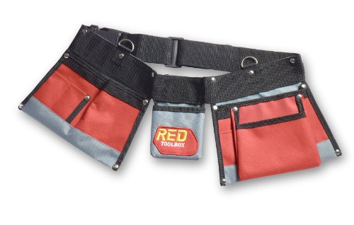 Red Tool Box Tool Belt (Childrens Tool Belt compare prices)