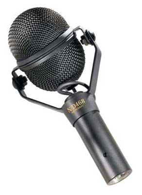Electro Voice Nd468 Dynamic Instrument Microphone