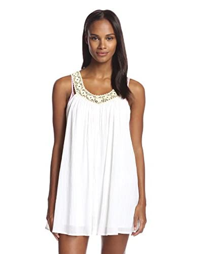 L*Space Women's White Falls Dress