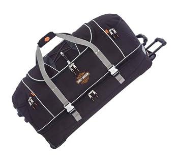 Harley-Davidson Hybrid Luggage 35'' Travel Equipment Duffel, Black 99635-BLK