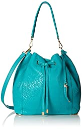 Vince Camuto Knox Drawstring Shoulder Bag,Ivy,One Size,Ivy,One Size