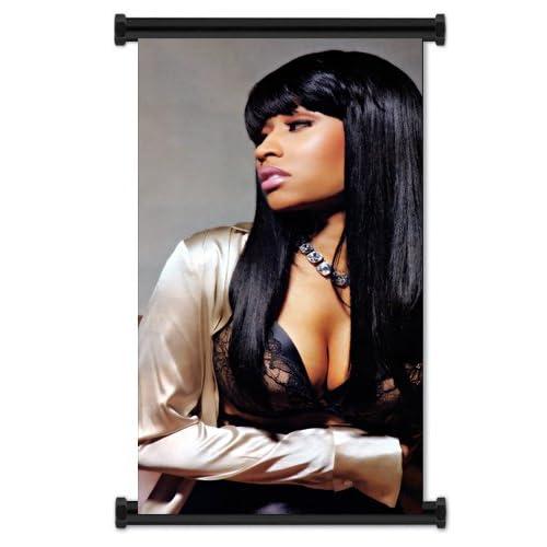Nicki Minaj Rapper Sexy Fabric Wall Scroll Poster (16x22) Inches