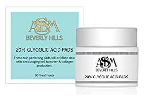 20% Glycolic Acid Pads, 50 Glycolic Acid Pads | Asdm Beverly Hills from ASDM Beverly Hills