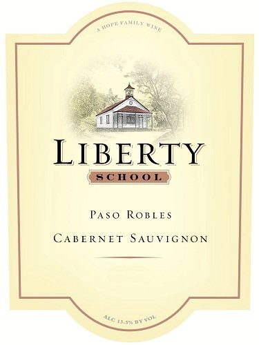 Liberty School 2010  Cabernet Sauvignon, Paso Robles 750ml