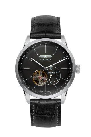 Zeppelin-Flatline-7364-2-Automatic-Open-Heart-Balance-Watch