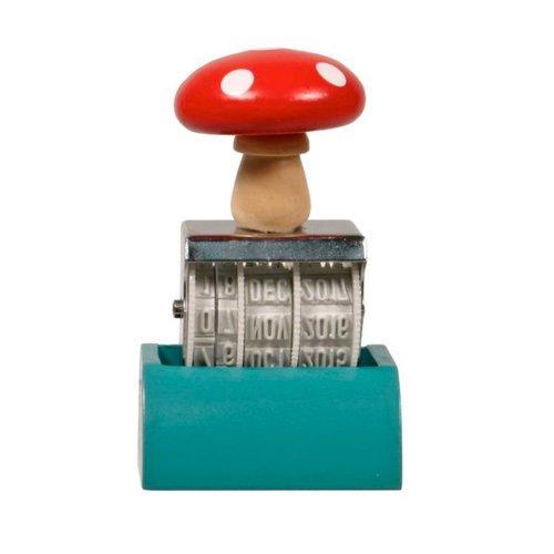 Streamline Mushroom Date Stamper - 1
