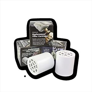 new wave enviro products replacement shower filter cartridge 1. Black Bedroom Furniture Sets. Home Design Ideas