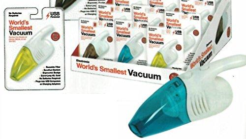 Miniature USB Vacuum - Assorted Colors (Mini Toy Vacuum compare prices)