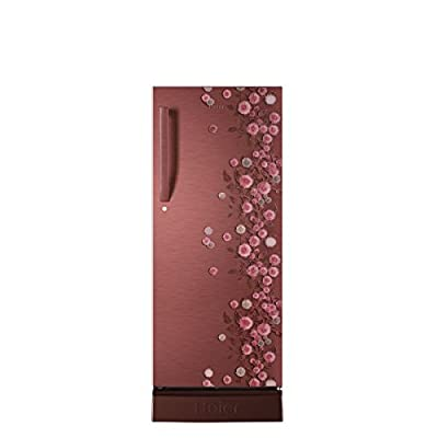 Haier HRD-2156PRL-H Direct-cool Single-door Refrigerator (195 Ltrs, 5 Star Rating, Red Liana)