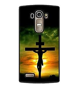 printtech Holy Cross Jesus Back Case Cover for LG G4 ,LG G4 H815