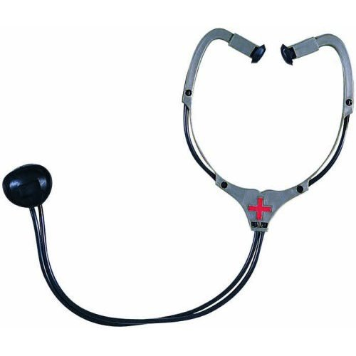 Doctor/Nurse Plastic Stethoscope Costume Accessory