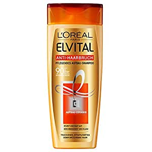 L'Oréal Paris Elvital Anti-Haarbruch Pflege-Shampoo, 3er Pack (3 x 250 ml)
