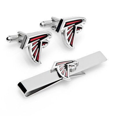 Nfl Cufflinks & Tie Bar Gift Set Nfl Team: Miami Dolphins front-176284
