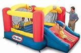 Giant Little Tikes Jump 'n' Slide Bouncy Castle 9ft X 11ft & 6ft Tall