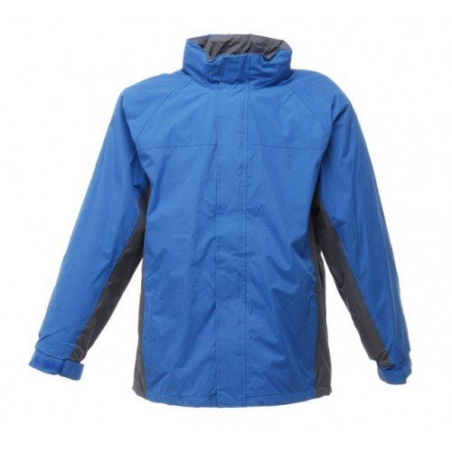 Regatta RG010 Hydrafort Peached Polyester Men's Waterproof Gibson II Interactive Jacket, X-Large, Royal/Seal