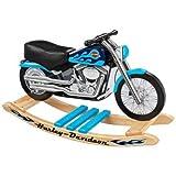 Harley Davidson Blue Softail Rocker