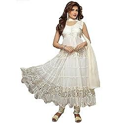 Leela Creators Brasso Net Suit (White)