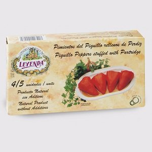 Leyenda-Piquillo Peppers with a marinated Partridge stuffing 250g