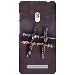 Via flowers Back Cover For Asus Zenfone 5 Play Game Multi Color