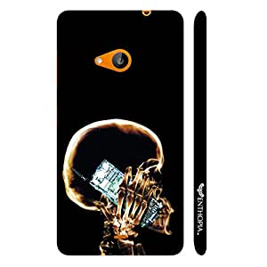 Nokia Lumia 535 EVERY X-RAY VIEW designer mobile hard shell case by Enthopia