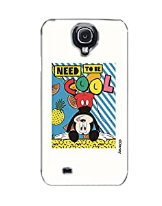 Pick Pattern with Exclusive DISNEY Characters Back Cover for Samsung I9500 Galaxy S4