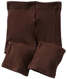 Jefferies Socks Baby Girls\' Capri, Chocolate, 18 24 Months