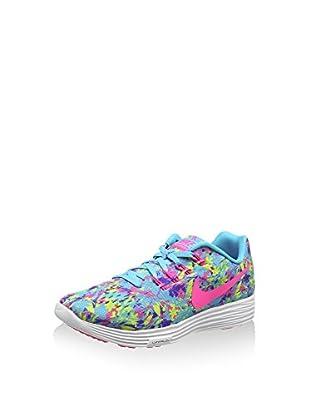 Nike Zapatillas W Lunartempo 2 Print (Azul / Rosa)