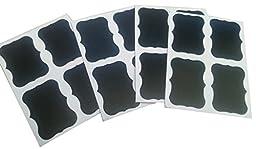 Wootile 96 X Blackboard/chalkboard Frame Stickers/labels Erasable Parties