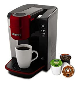 Mr. Coffee Single Serve Coffee Brewer Powered by Keurig Brewing Technology