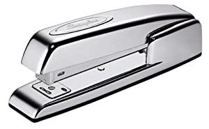 Swingline Stapler, 747, Collectors Edition, Business, Manual, Desktop, 20 Sheet Capacity, Polished Chrome (74720)