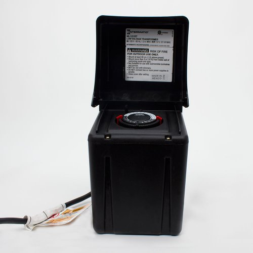 intermatic ml121rt low voltage 121 watt power pack with. Black Bedroom Furniture Sets. Home Design Ideas